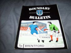 Oldham Athletic v Brentford, 1972/73